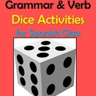 Vocabulary, Grammar and Verb Activities for Spanish Class