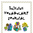 Vocabulary Journal for Science