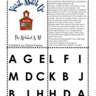 Vocabulary Match Up - Alphabet A-M