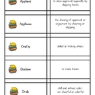 Vocabulary Practice from Wordly Wise lesson 6 Grade 4