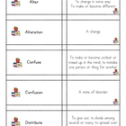 Vocabulary Practice from Wordly Wise lesson 7 Grade 4