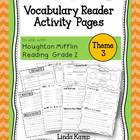 Vocabulary Reader Activities for Houghton Miflin Second Gr