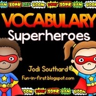 Vocabulary Superheroes