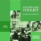 Vocabulary Toolkit