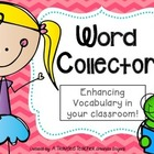 Vocabulary &quot;Word Collector&quot;