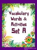 Vocabulary Word of the Day set A bundle pack