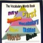 Vocabulary Words Book