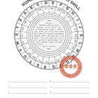 Vocabulary and Number Drill Game for numbers 22-117