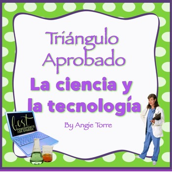 Vocabulary for Triángulo Aprobado for AP Spanish: la Cienc