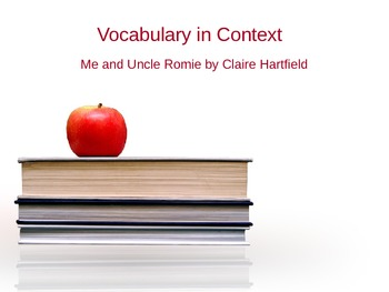 Vocabulary in Context - Gr 3 Reading Street  5.5