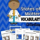 Vocabulary that Matters: Properties of Matter Memory Game