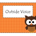 Voice Level Posters (Woodland Animals) FREE