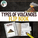Volcano Flip Book - Great for Interactive Notebooks!
