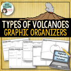 Volcano - Graphic Organizer for Geography / Earth Science