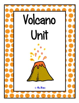 Volcano Unit {vocab cards, background info, Bill Nye guide