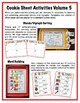 Cookie Sheet Activities Volume 5-  Blends and Digraphs