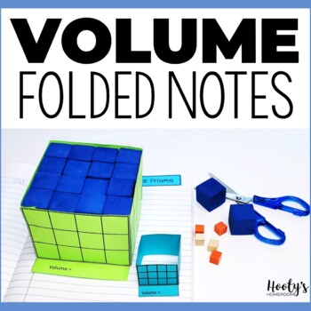 Volume - Folded Note Taking for Interactive Journals