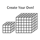 Volume Model Fonts - Customizable Cube Models