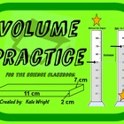 Volume Practice for Science