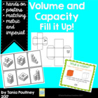 Volume and Capacity- Fill it Up