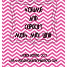 Volume and Capacity Math Mini Unit