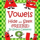 Vowels Hide and Seek (Freebie)