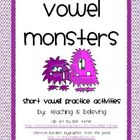 Vowel Monsters