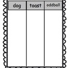 Vowel Pattern Sort
