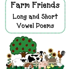 Vowel Poems-Farm Friends