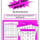 Vowel Team Bingo w/30 Boards