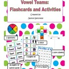 Vowel Teams: Flashcards and Activities