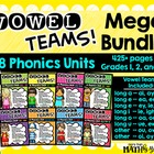 Vowel Teams! Mega Bundle: 7 Phonics Units