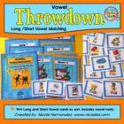 Vowel Throwdown! -A Short and Long Vowel Sorting 'n Matchi