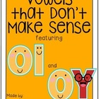 Vowels that Don&#039;t Make Sense: OI and OY