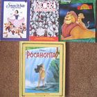 WALT DISNEY SNOW WHITE LION KING 101 Dalmatians POCAHONTAS