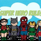 WBT Rules: Super Hero Theme