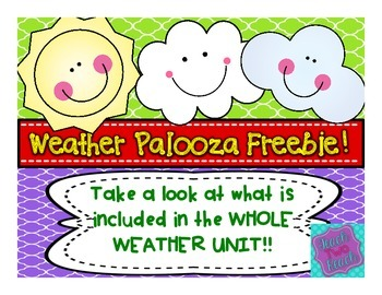 WEATHER PALOOZA FREEBIE
