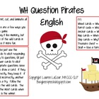 WH Question Pirates (English)