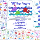 WH-Whale Questions {Who, What, Where, When, Why, &amp; How}