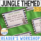 WILD About Reading: Jungle Themed Reader&#039;s Workshop Materials