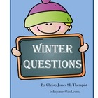 WINTER QUESTIONS (K-1 Grade)