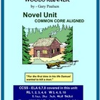 WOODS RUNNER Common Core Aligned Novel Study