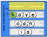 WORD WALL / SIGHT WORD BRACELETS