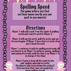 WORD WORK: Speed Spelling Double Consonant Words
