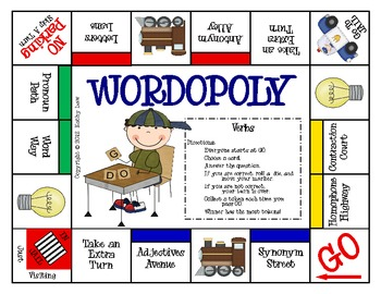 WORDOPOLY--Verbs