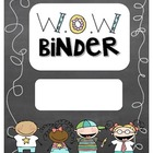 W.O.W Binder {Well Organized Work}