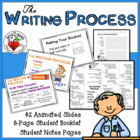 WRITING - The Writing Process - PowerPoint and 8-page booklet