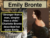 WUTHERING HEIGHTS and Emily Bronte - Power Point Introduction