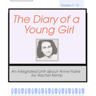 WW2 Novel Study - Anne Frank Diary of a Young Girl