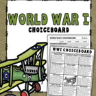 WWI Choice-Board Assignment (+ Rubric)
